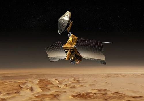 MRO på jobb på Mars