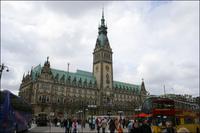 Trykk for større bilde av Hamburg Rathaus