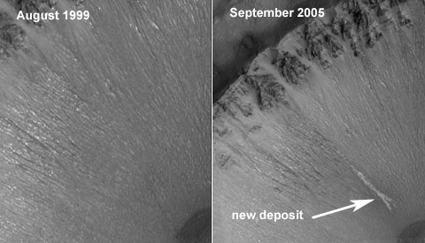 Vann på Mars